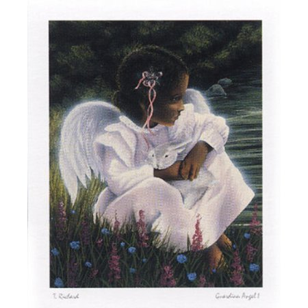 Guardian Angel Mini Poster By T. Richard - 16x20 (Angie Poster)