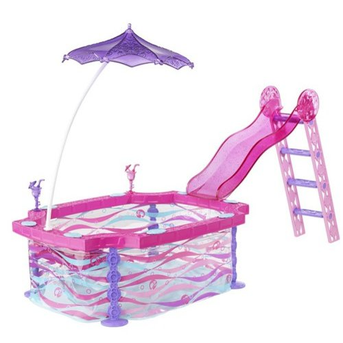 Barbie Glam Pool Play Set by Mattel