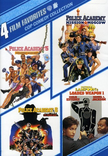4 Film Favorites: Cop Comedy Collection by WARNER HOME ENTERTAINMENT