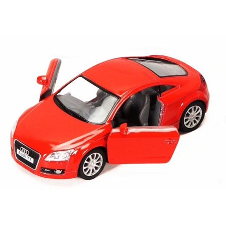 2008 Audi TT Coupe, Red - Kinsmart 5335D - 1/32 scale Diecast Model Toy Car (Brand New, but NOT IN BOX)