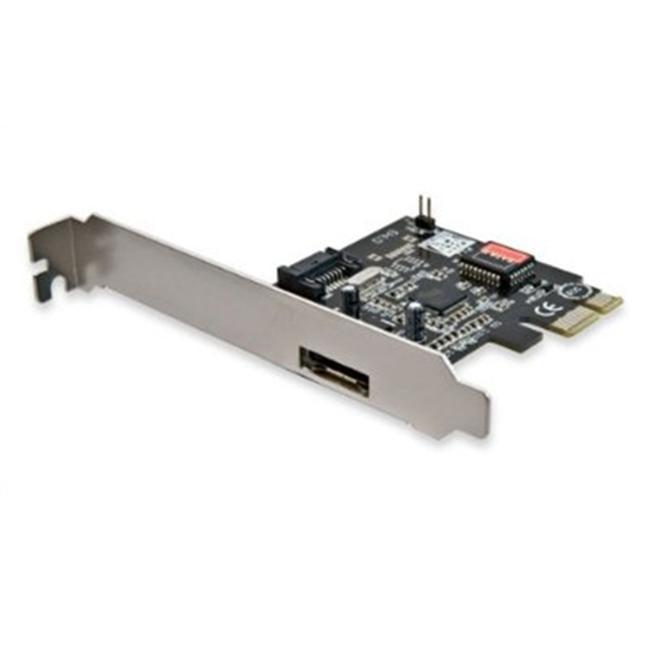 Syba SD-SATA-1E1I 1 Port eSATA II 1 Port SATA II PCI Controller Card