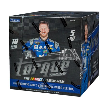 2016 Panini Torque Hobby Racing Box (Press Pass Racing Hobby Box)