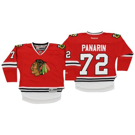 purchase cheap 8db60 777ff Reebok NHL Kids Chicago Blackhawks Artemi Panarin #72 Player Jersey, 4-7