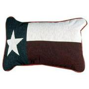 Texas Flag Decorative Tapestry Toss Pillow