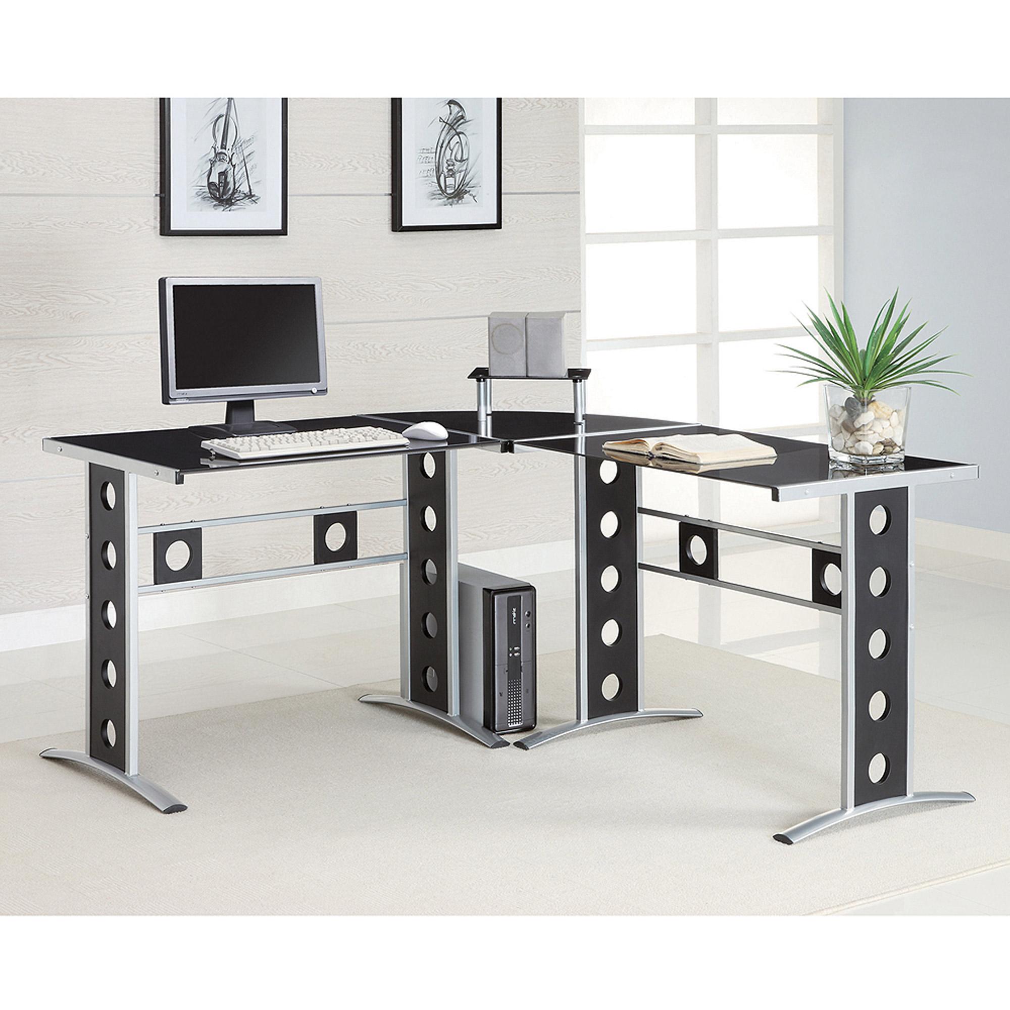 coaster contemporary computer desk - walmart