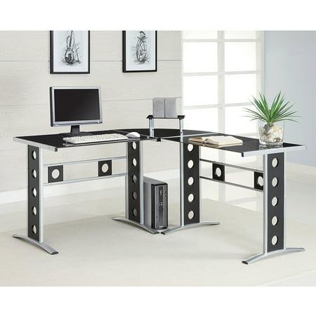 Coaster Contemporary Computer Desk Walmartcom - Contemporary computer desk