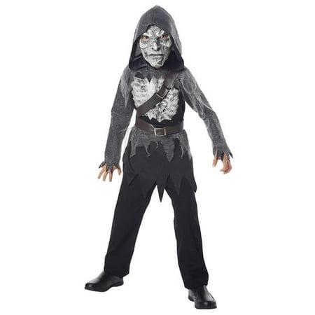 Undead Walker Child Costume - Medium, Size - Walker Costume
