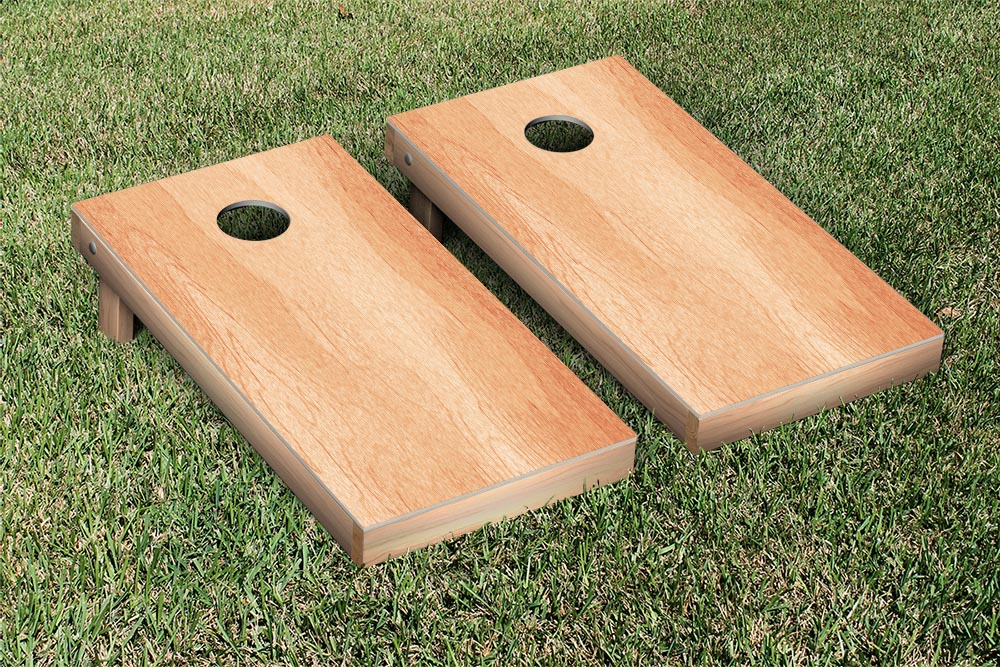 Hardcourt Series Wooden Regulation Cornhole Set by Victory Tailgate