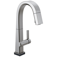 Delta Pivotal: Single Handle Pull Down Bar/Prep Faucet With Touch2O Technology