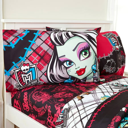 Monster High Halloween Full Episode (Mattel Monster High Right to Fright Black Sheet Set, 1)
