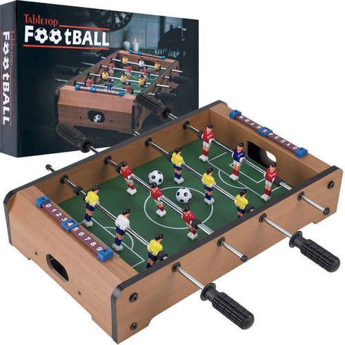 Trademark Games Mini Table Top Foosball with Accessories