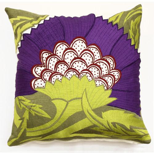 Sabira Pollen Throw Pillow
