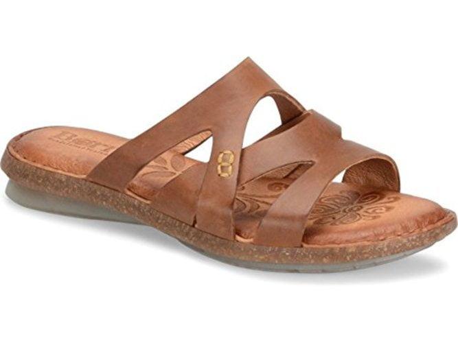 B.O.C Womens Tepati Leather Open Toe