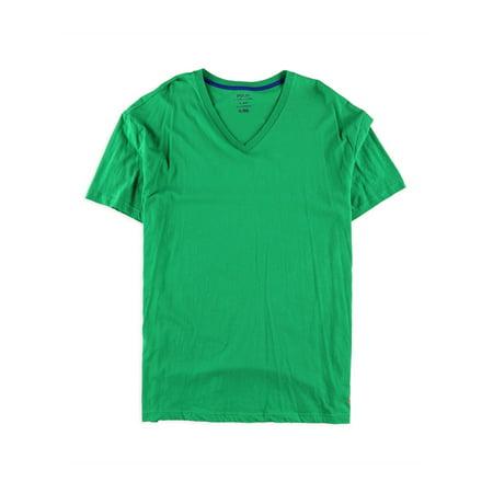 Ralph Lauren Mens Cotton Basic T-Shirt, Green, X-Large