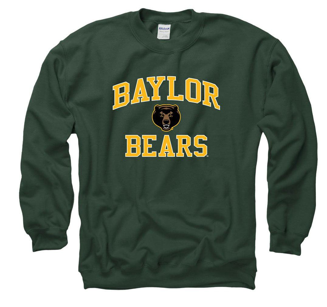 Baylor Bears Men's Crew Neck Sweatshirt- Green