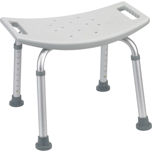 Drive Medical Bathroom Safety Shower Tub Bench Chair, Gray