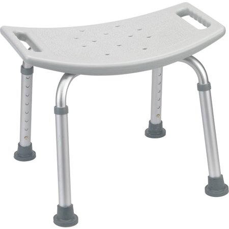 Drive Medical Bathroom Safety Shower Tub Bench Chair Gray