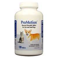 ProMotion Chewable Tablets for Cats & Small Dogs (120 count)