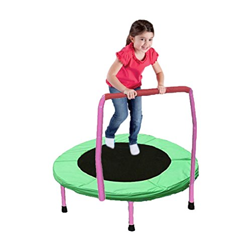 Dazzling Toys 36 Quot Foldable Trampoline With Handle Pink