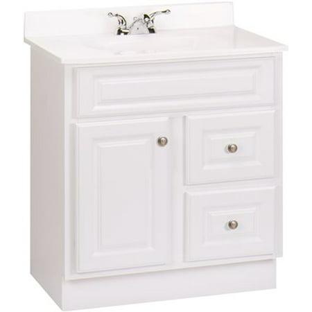 rsi home products hamilton bathroom vanity cabinet fully