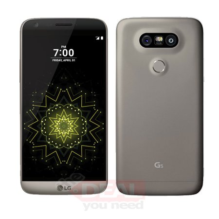 LG G5 LS992 32GB (Sprint) 4G LTE Android Smartphone - Titan Gray (Refurbished Good condition) ()