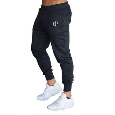 Mens Sport Pants Tracksuit Workout Jogging Joggers Sport Gym Sweatpants Trousers Workout Pants Men