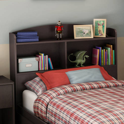 South Shore Logik Twin Bookcase Headboard, 39'', Multiple Finishes