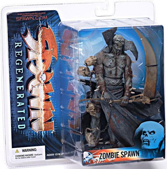 McFarlane Series 28 Regenerated Zombie Spawn Action Figure by