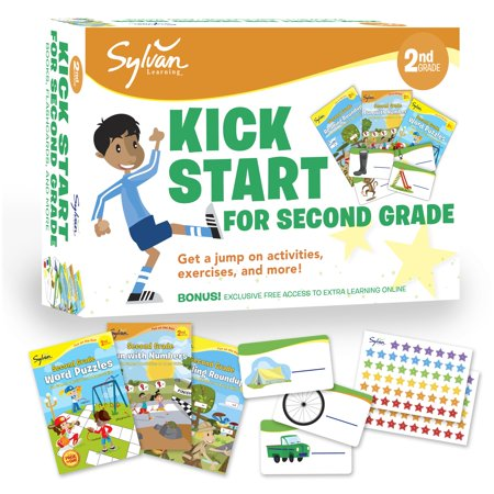 Sylvan Kick Start for Second Grade : Get a Jump on Activities, Exercises, and More!