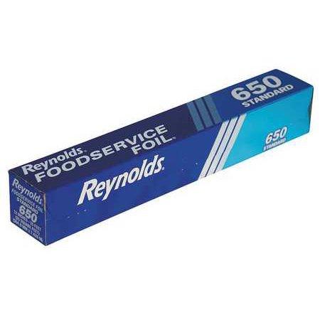 "Foil Roll,Aluminum,Standard,25 ft.,12"" REYNOLDS 650C"