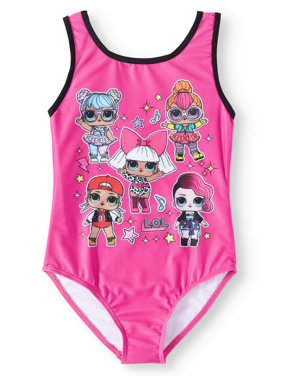 L.O.L Surprise! One-Piece Swimsuit (Little Girls & Big Girls)