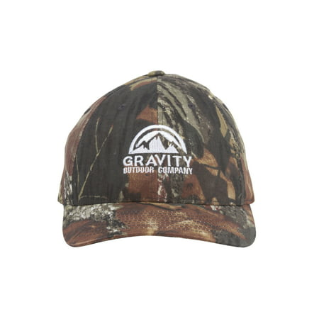 Logo Realtree Hunting Fitted Baseball Cap - Leaf