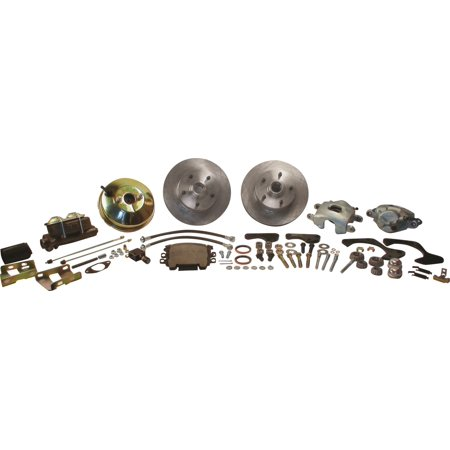 SSBC Performance Brakes A129-2 Drum To Disc Brake Conversion Kit