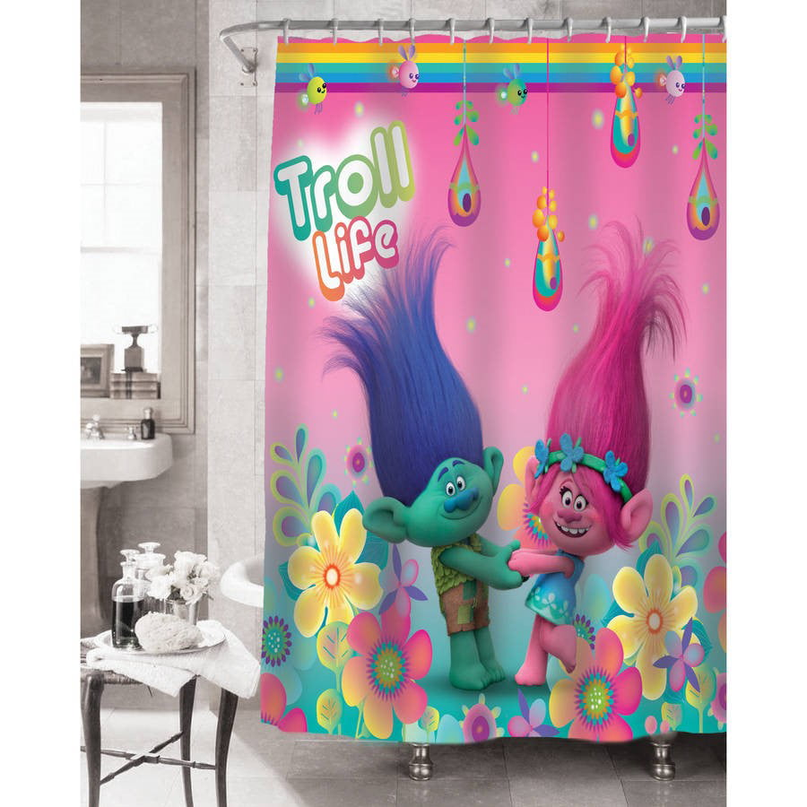 Trolls Hugfest Shower Curtain by Franco Manufacturing Co., Inc.