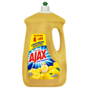 Ajax Ultra Super Degreaser Liquid Dish Soap, Lemon - 90 fluid ounce