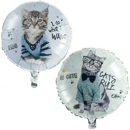 Rachael Hale Cats Rule Foil Balloon (1)