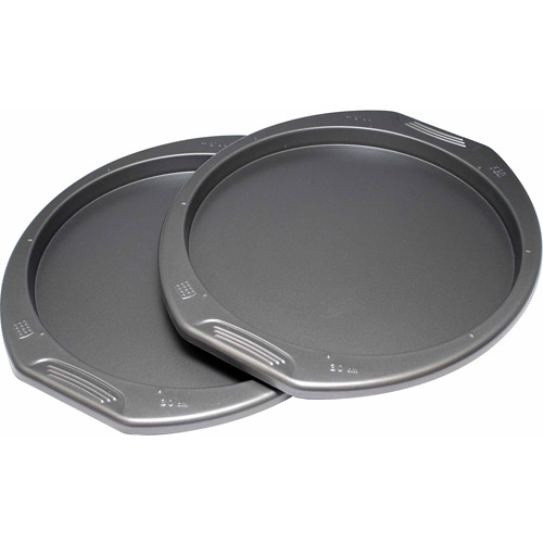 """Preferred Set of 2 Pizza Pans, 12"""""""