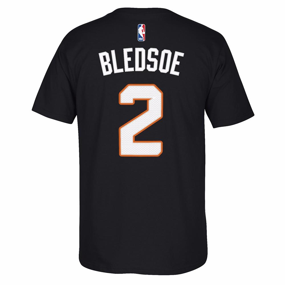 Eric Beldsoe Phoenix Suns NBA Adidas Black Name & Number Player Jersey Team Color T-Shirt For Men