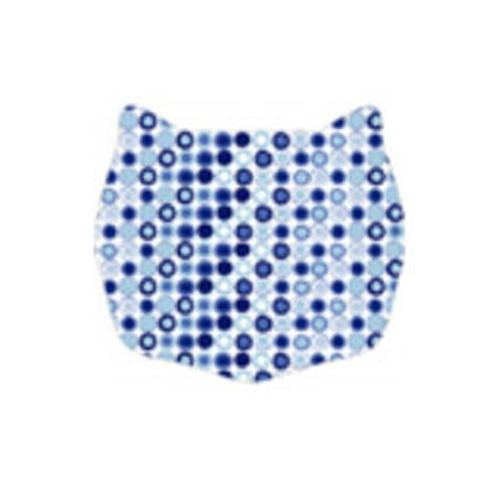 Cats Rule 00589 Small Space Mat - Blue Dot