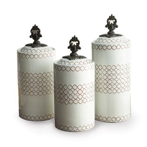 American Atelier 3 Piece Canister Set