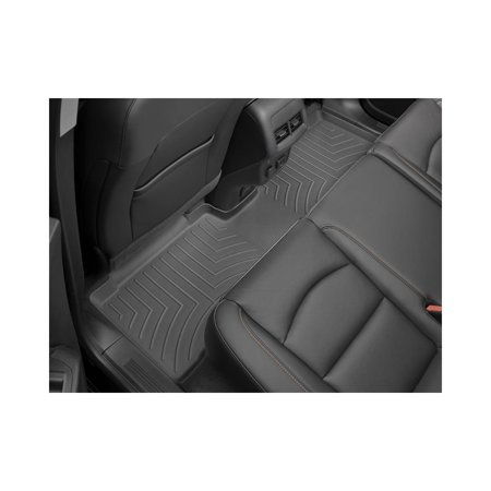 Chrysler Pacifica Weathertech Front And Rear Black Digitalfit Weathertech Floorliner WET-449452 1500 Weathertech Rear Floor