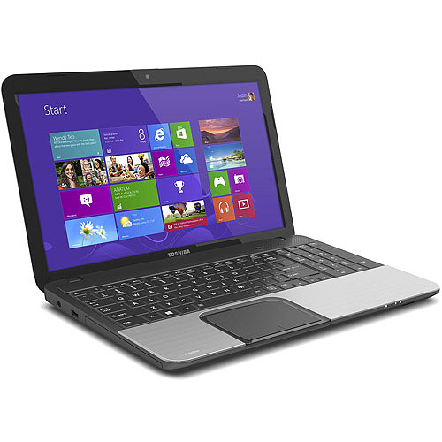 "Toshiba 15.6"" Satellite C855-S5352 Laptop PC with Intel Core i3-3110M Processor and Windows 8"