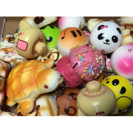 CharmsLOL Variety of 5 Squishy Charms - CharmsLOL Variety of 5 Squishy Charms - Squishy Shop Online
