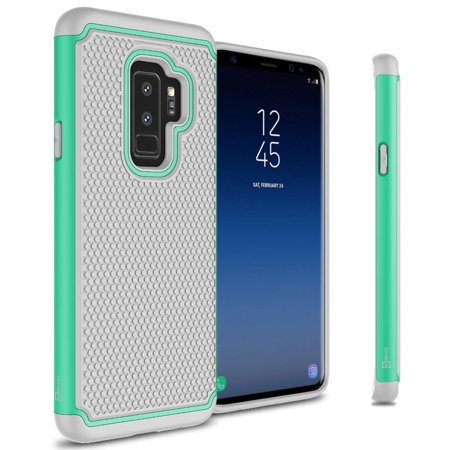 c6100d044 CoverON Samsung Galaxy S9 Plus Case, HexaGuard Series Hard Phone Cover -  Walmart.com