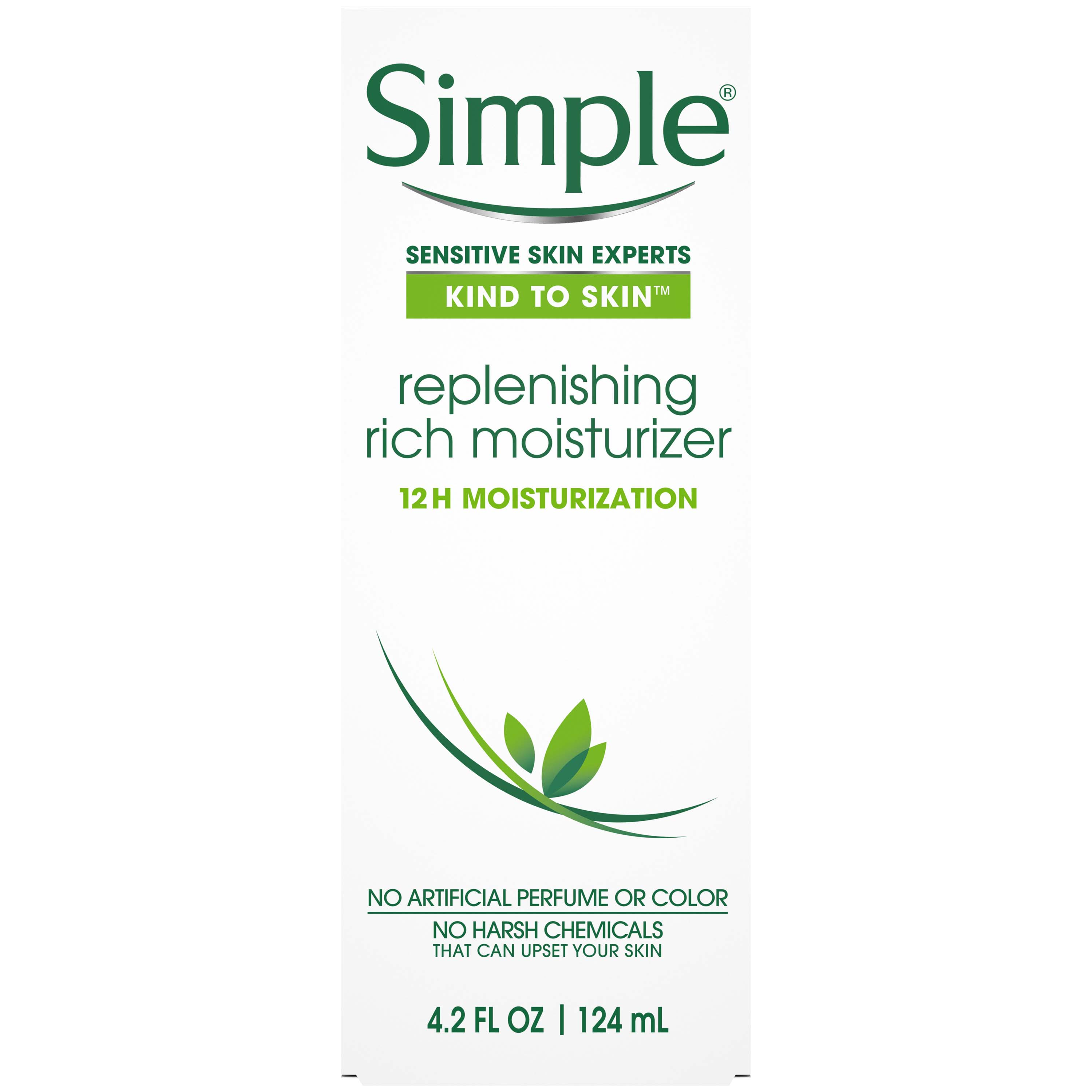 Simple Replenishing Rich Facial Moisturizer, 4.2 oz