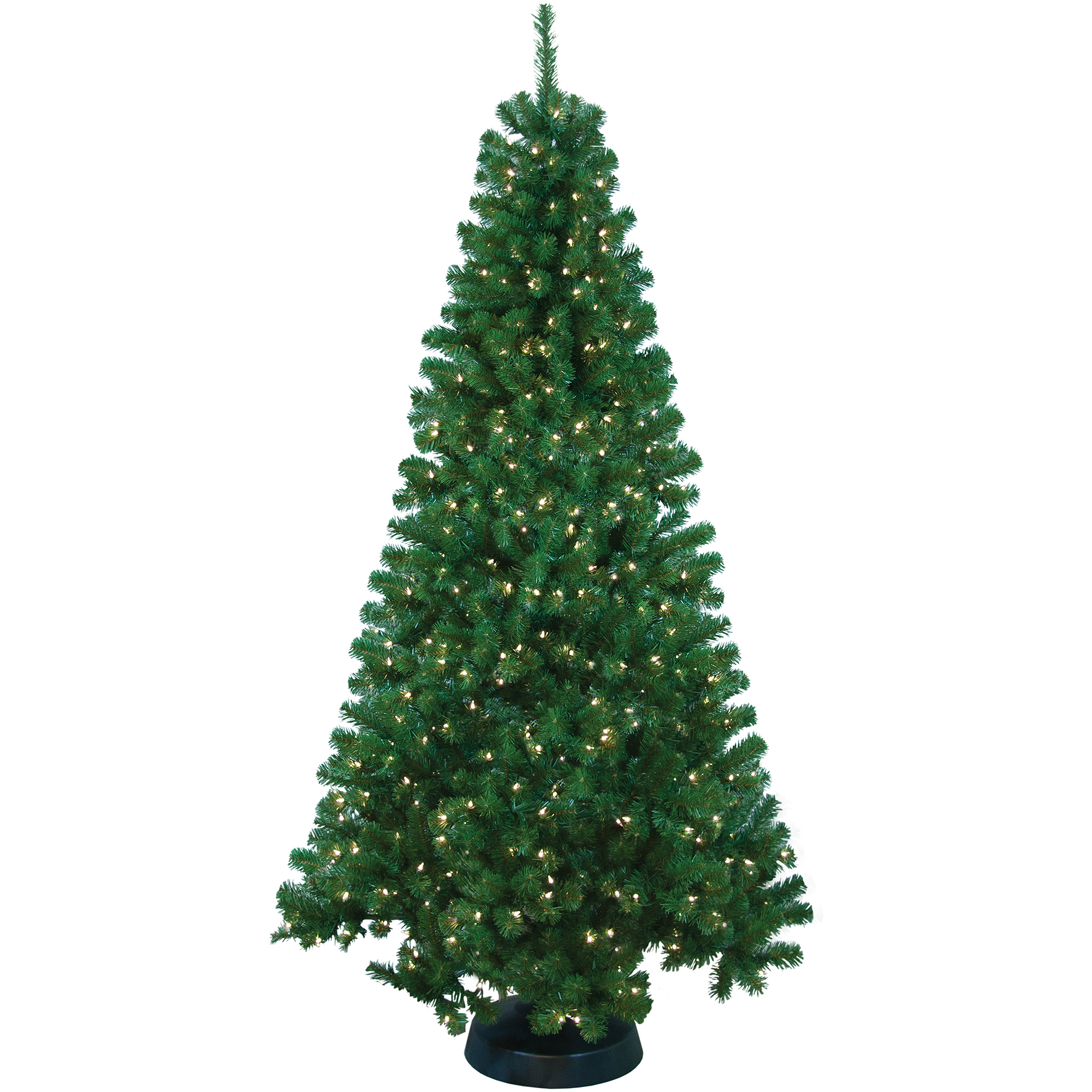 Pre-Lit 7' Rockport Artificial Christmas Tree, 400 Clear Lights