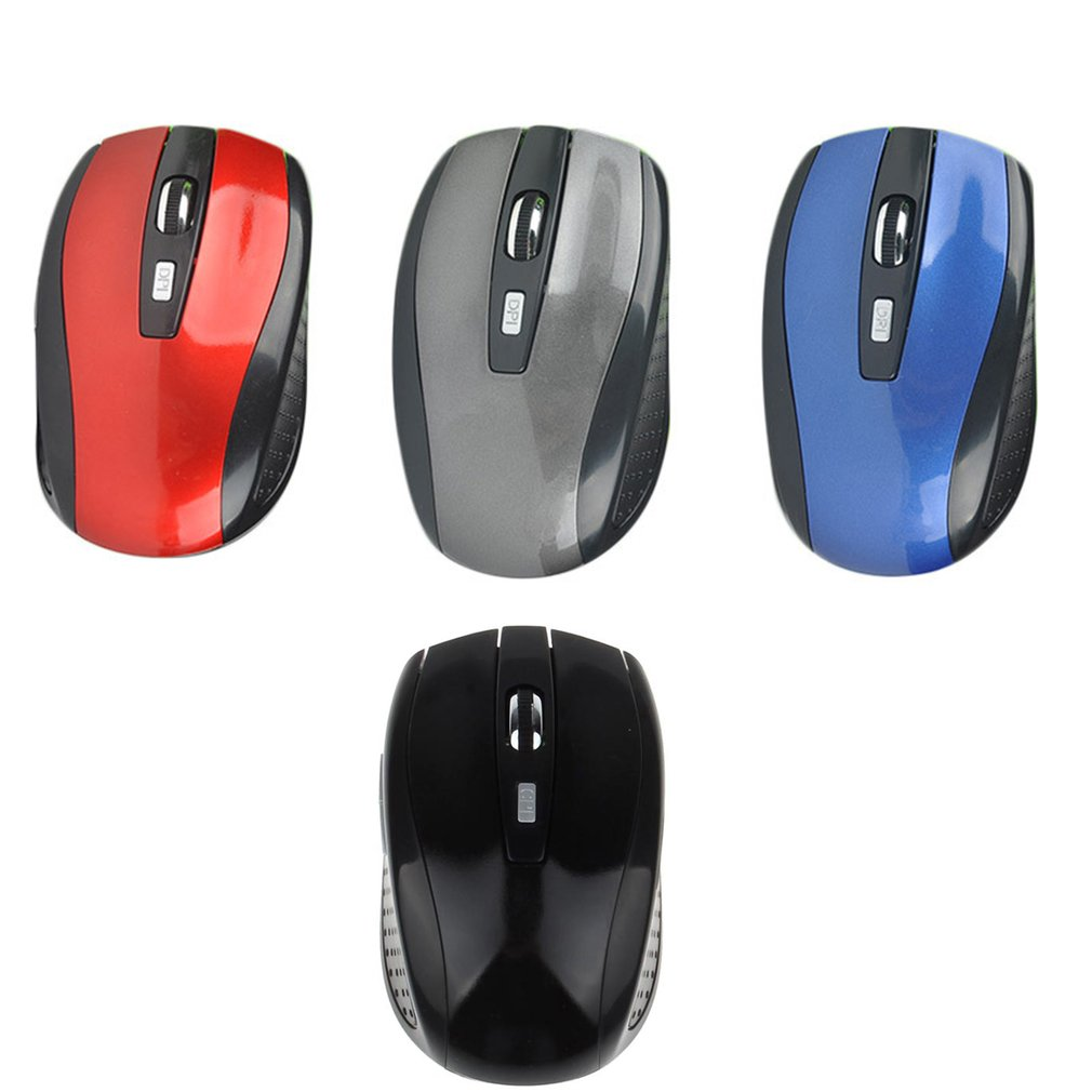 Portable 2.4G Wireless Optical Mouse Mice For Computer PC Laptop Gamer