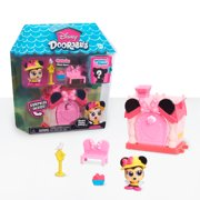 Disney Doorables Mini Playset Minnie Mouse's Garden Cottage, Ages 5 +