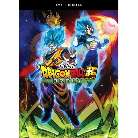 Dragon Ball Super: Broly - The Movie (DVD + Digital (Dragon Ball Z Fusion Saga Full Episodes)