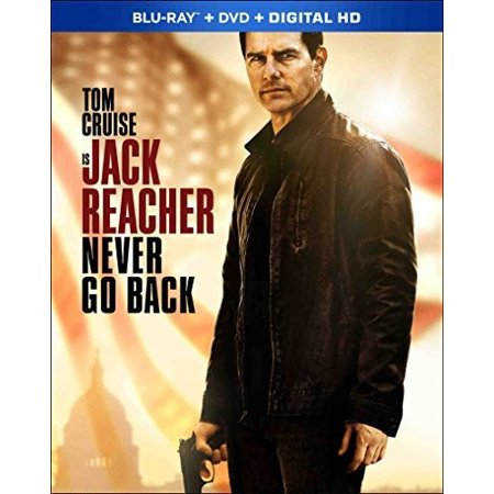 Jack Reacher  Never Go Back  Blu Ray   Dvd